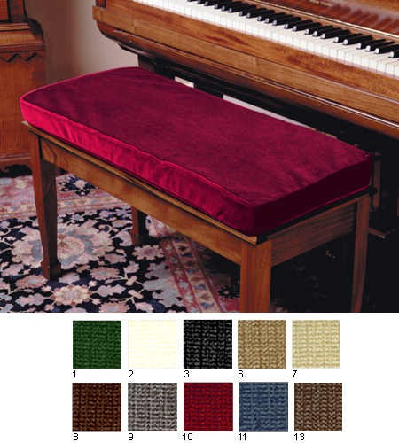 2 Polyester Satin Bench Cushion Custom Size Free Shipping At Perfectly Grand